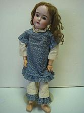 KESTNER Bisque and Compo German Baby Doll: