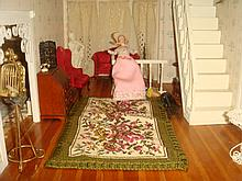 Dollhouse Furniture, Sitting Room- 1/35th Scale:
