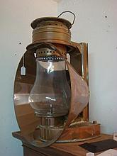 Copper Railroad Style Gas Lantern From Daryl's: