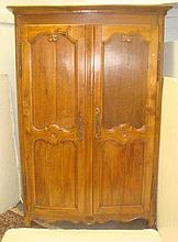 18th Century French Provincial Armoire/Cabinet: