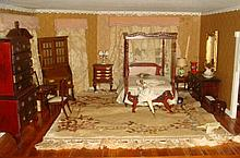 Dollhouse Furniture, Master Bedroom-1/35th Scale: