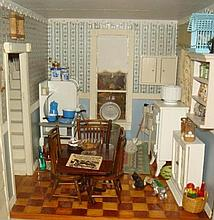 Dollhouse Furniture, Kitchen-1/35th Scale: