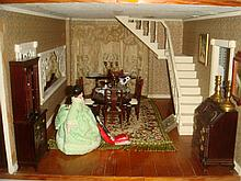 Dollhouse Furniture, Dining Room-1/35th Scale: