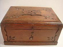 C 1900 American Tramp/Folk Art Box: