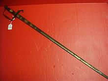 BRAVAIA Straight Sword With NK Initial Grips: