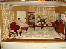 Dollhouse Furniture, Living Room- 1/35th Scale: