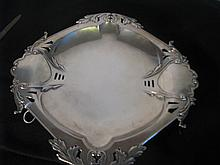 French Sterling Arts and Crafts Period tray