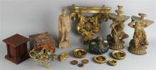 GROUP OF SIXTEEN MISCELLANEOUS DECORATIVE PIECES