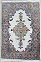 PERSIAN SIGNED MASHAD WOOL RUG