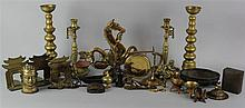 GROUP OF ASSORTED METAL PIECES
