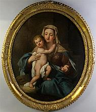 CIRCLE OF DIRCK DE QUADE VAN RAVESTERYN (17TH/18TH CENTURY) MADONNA AND CHILD Oil on canvas: 40 x 32 in.