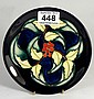 Moorcroft Plate with Leaf and Berry Design