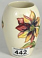 Moorcroft Old Vase with Rare Dahlia Design c.1960