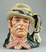 Royal Doulton Large Character Jug Bill Sikes D6981,limited edition