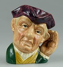 Royal Doulton small character jug Ard of Earing D6591