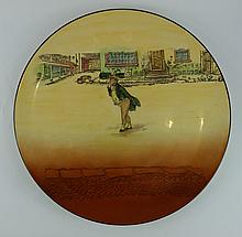Royal Doulton Dickens seriesware large charger Mr Pickwick D5175 diameter 39cm