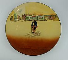 Royal Doulton Dickens seriesware large charger Old Peggoty D5176