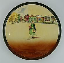 Royal Doulton Dickens seriesware large charger Little Nell D5175 diameter 34cm