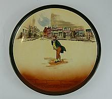 Royal Doulton Dickens seriesware large charger Mr Pickwick D5175 diameter 34cm