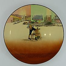Royal Doulton Dickens seriesware large charger Sam Weller D5175 diameter 34cm