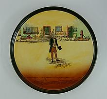 Royal Doulton Dickens seriesware large charger Tom Pinch D5175 diameter 34cm