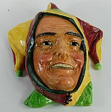 Royal Doulton large Jester Wall Mask