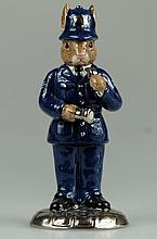 Bunnykins Policeman Platinum Colourway Ltd Edt 100 (Boxed with Certificate)
