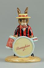 Bunnykins Drummer Colourway Ltd Edt 200 Commemorating the 75th Bunnykins Anniversary (Boxed with Certificate)