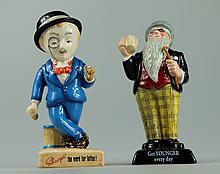 Royal Doulton advertising figures Sir Kreemy Knut AC3 and Father William AC2 from the 20th century advertising classics  (2)