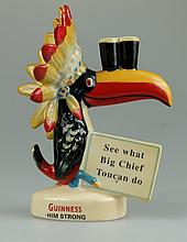 Royal Doulton Advertising figure Big Chief Toucan MCL3, limited edition