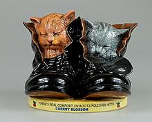 Royal Doulton Advertising figure Cherry Blossom Kittens MCL3, limited edition