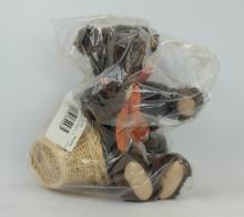 Steiff teddy bear Autumn in sealed plastic bag