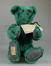 Deans green teddy bear Tuppence limited edition