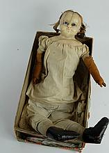 Early Wax headed Victorian Doll