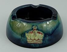 Moorcroft commemorative ashtray dated 1937