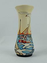 Moorcroft Out of Sea vase limited edition signed K Goodwin height 21cm