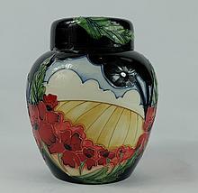 Moorcroft Forever England Ginger Jar height 16cm