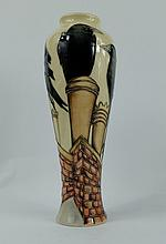 Moorcroft Jackdaws vase limited edition height 27cm