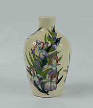 Moorcroft Bluebell trial vase height 9cm