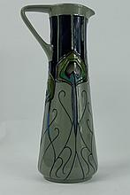 Moorcroft Peacock Parade trial jug dated 1/8/12 height 24cm
