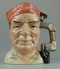 Royal Doulton large character jug The Cabinet Maker D7010 limited edition to commemorate the North American Royal Doulton conference 1995