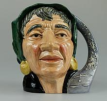 Royal Doulton large character jug The Fortune Teller D6497