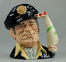Royal Doulton large character jug Yachtsman D6820 limited edition for the first Canadian Royal Doulton Show in Durum Ontario 1988