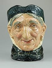Royal Doulton large character jug Toothless Granny D5521