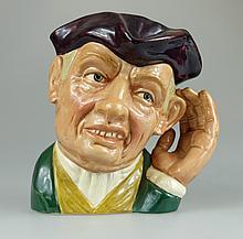 Royal Doulton large character jug 'Ard of 'Earing D6588