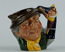 Royal Doulton miniature character jug Punch and Judy D6596