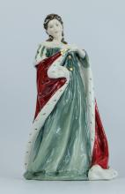 Royal Doulton figure Queen Ann HN3141, limited edition boxed with certificate