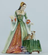 Royal Doulton figure Lady Jane Grey HN3680, limited edition boxed with certificate
