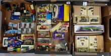 A large collection of toy cars to include Corgi, Matchbox, Days gone, Solido, many in original boxes (50 pieces approx)