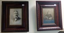 Two Small Format Victorian photographs from local photographer H.J Coventry (Hanley) (2)